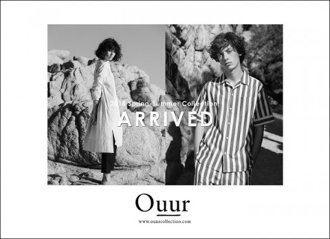 OUUR 2018SS collection NEW ARRIVED