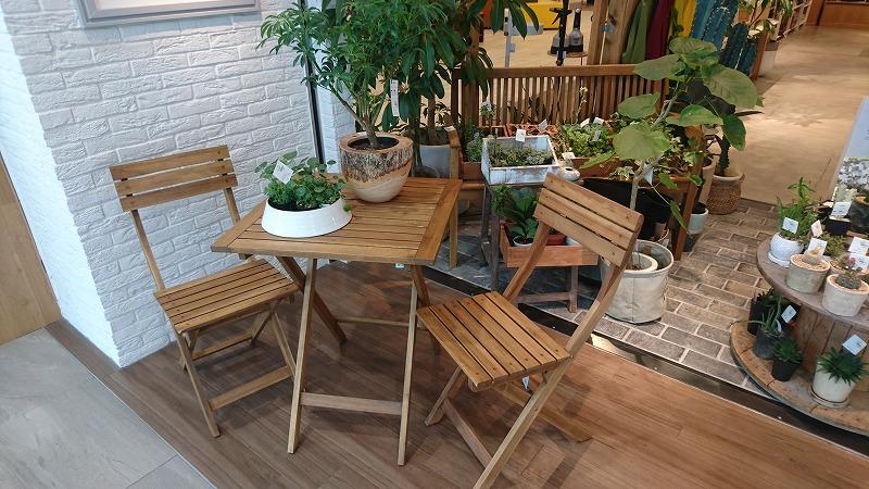 ガーデン用家具のご紹介